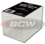 Trading Card Storage Box Acrylic - Holds 150 Cards x 4 Pack